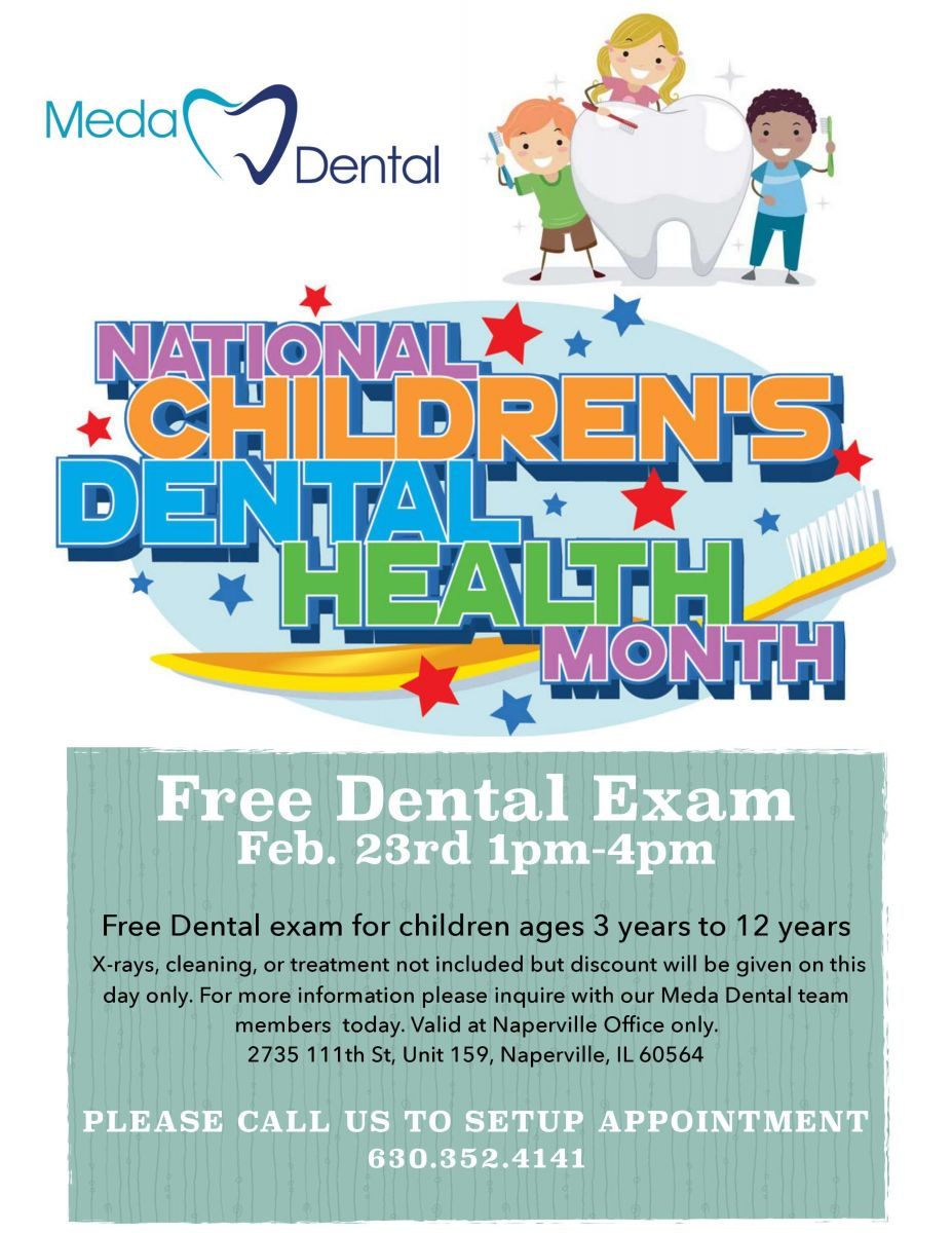 Free Dental Exam Promo